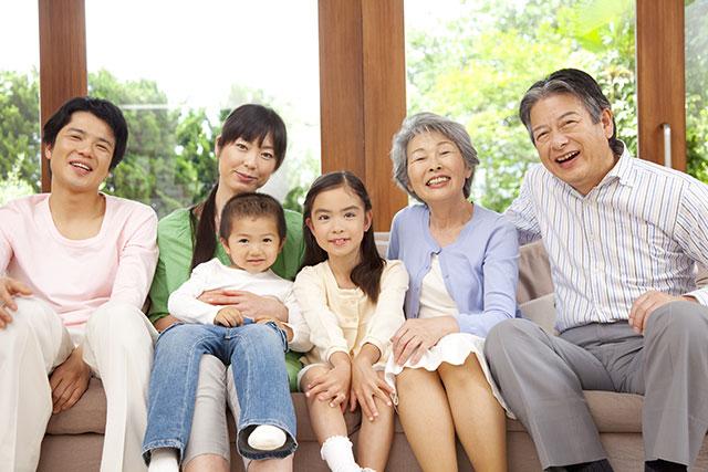 小さな子どもや高齢者がいる家庭