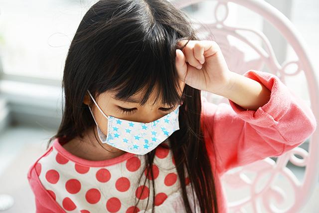 インフルエンザの子ども